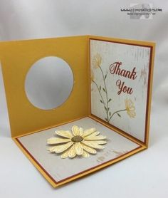 Stampin' Up! Daisy Delight Corner Pop-Up Card – and Blog Candy! – Stamps – n – Lingers