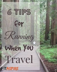 Like to travel? If you're a runner, you need these 6 Tips to explore your destination from a new perspective // FITaspire.com
