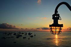 #Italie - Lever de soleil sur la mer à Stromboli #Italy #Sicily #Sicile