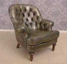 4016 Fotel w stylu Chesterfield