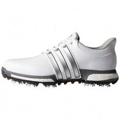 timeless design 1c7a5 4b7fe Adidas 2016 Tour 360 Boost WD Golf Shoe - White  Product Description  Featuring a premium leather upper with…