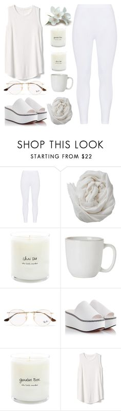 """sleepless night"" by jayemie ❤ liked on Polyvore featuring Gozzip, Brunello Cucinelli, Juliska, Ray-Ban, Robert Clergerie and Gap"
