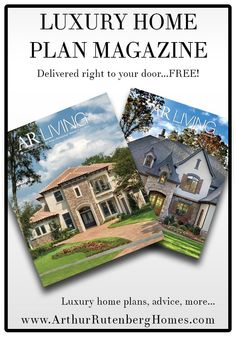 Pinterest Free Magazines Luxury Home Plans And Custom Home Designs
