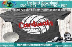 Volleyball Team Shirts, Volleyball Shirt Designs, Volleyball Mom, Volleyball Crafts, Volleyball Outfits, Fan Shirts, Cute Shirts, Cardinals Shirts, Grunge