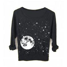 Womens Full Moon Star Galaxy Yoga Sweater Sweatshirt Boho Yoga Screen... ($35) ❤ liked on Polyvore featuring tops, hoodies, sweatshirts, witch, dark olive, women's clothing, sweatshirts hoodies, raglan sleeve sweatshirt, loose tops и bohemian tops