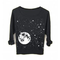 Womens Full Moon Star Galaxy Yoga Sweater Sweatshirt Boho Yoga Screen... ($35) ❤ liked on Polyvore featuring tops, hoodies, sweatshirts, witch, dark olive, women's clothing, sweatshirts hoodies, raglan sleeve sweatshirt, loose tops и bohemian tops