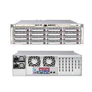 STORAGE 8 HDD - SPECIFICATIONS:  Chassis Supermicro CSE-825TQ-560LPB;  Motherboard Supermicro MBD-X9SRL-F;  CPU Intel Xeon E5-2603;  RAM Kingston KVR1333D3N9/8Gb;  Controller Raid Areca 1882i;  n.4 Hard Disk RED Western Digital 1TB SATA3;  Software Ubuntu 12.10