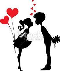 silhouette love - Buscar con Google