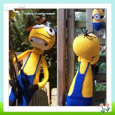 Minion Lalylala inspired doll