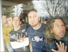 pearl jam --Oh my gosh, I think this is it. This is my favorite picture of them.