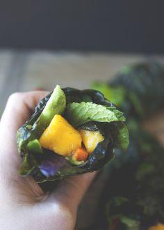 Green Thai Wrap | Clean Eating Recipe