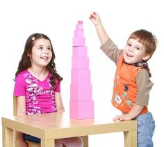 torre rosa montessori 1