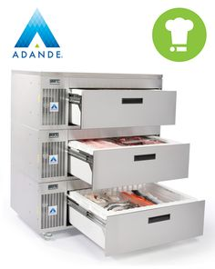 Did you know that an Adande unit can be converted in minutes to become either a commercial fridge or freezer.
