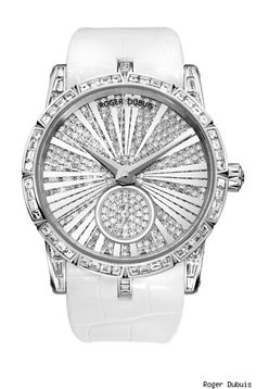 Roger Dubuis Excalibur Ladies Watch - White