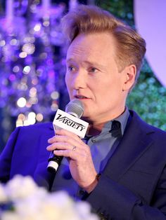 Conan O'Brien Photos - Conan O'Brien speaks onstage at the Keynote Conversation during Tune In! Variety's TV Summit at Intercontinental Century City on August 2014 in Century City, California. - Tune In! Conan O Brien, Humor, Tv, Board, Photos, Pictures, Humour, Television Set, Funny Photos