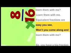 equivalent fraction song