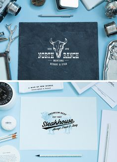 Free Great Table Paper Mockup with Camera, Pen and Other Accessories Project Presentation, Mockup Templates, Free Website, Other Accessories, Photoshop, Branding, Free Paper, Clean Design, Free Stuff