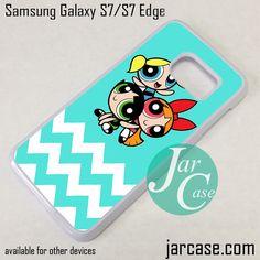 The Powerpuff Girls Chevron 1 Phone Case for Samsung Galaxy S7 & S7 Edge