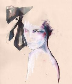 Fashion illustration by Amelie Hegardt