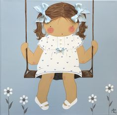Nuevos cuadros personalizados BB the countrybaby Wall Prints, Ideas Para, Needlework, Little Girls, Nursery, Quilts, Dolls, Pillows, Bay Shore
