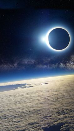Solar eclipse, as seen from Earth's orbit. rhythm of the cosmos. Cosmos, Cool Pictures, Cool Photos, Beautiful Pictures, Random Pictures, Space And Astronomy, Nasa Space, Galaxy Space, To Infinity And Beyond