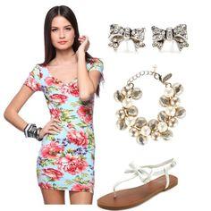 floral dress!