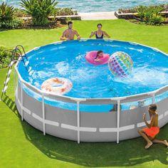 Intex kit piscine tubulaire clear window (ø)4,88 x (h)1,22m - 😍Découvrir ici - #ventespascher #Piscinetubulairehorssol #PiscineINTEX #Piscinepascher #PiscineCdiscount #Piscine #Cdiscount #psicineronde