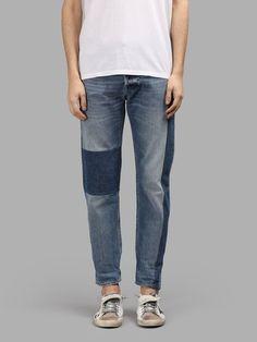 GOLDEN GOOSE GOLDEN GOOSE MEN'S BLUE JEANS. #goldengoose #cloth #jeans