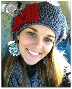 free hat pattern @Holly Bryant in case you want to try it!!!!!