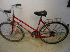 Bicicleta de paseo vintage marca Rieju en Barcelona