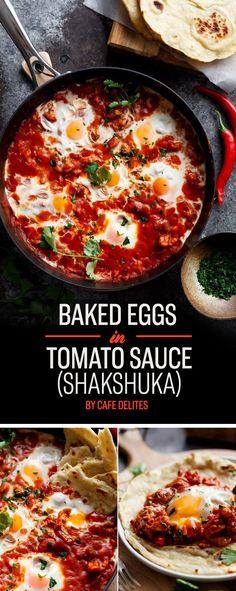 Baked Eggs in Tomato Sauce (Shakshuka)