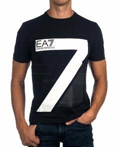 Camisetas Armani EA7 Azul Marino - Big Seven