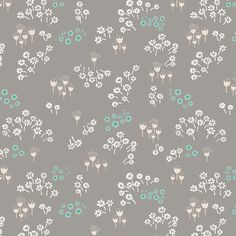TENDERNESS GREY  £3.00  From the 'Littlest' collection by Art Gallery fabrics.