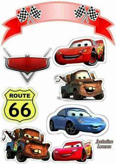 Cars fiesta infantil torta 47 best ideas cars ideas cars fiesta infantil bolsitas for 2019 cars Disney Cars Party, Disney Cars Cake, Disney Cars Birthday, Cars Birthday Parties, Disney Pixar Cars, Boy Birthday, Car Cake Toppers, Birthday Cake Toppers, Cupcake Toppers Free