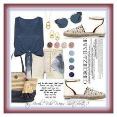"""""""Tory Burch...""""Who Wears Short,  Shorts""""?"""" by onesweetthing on Polyvore featuring Tory Burch, Alice + Olivia, La Femme and Terre Mère"""