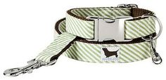 Montauk Dog Collar - Frontgate Dog Bed - traditional - pet accessories - FRONTGATE
