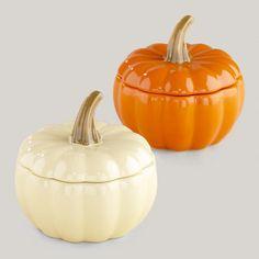 Pumpkin Bakers at Cost Plus World Market >> #WorldMarket Fall Decor, Fall Harvest, Cooking, Kitchen Accessories