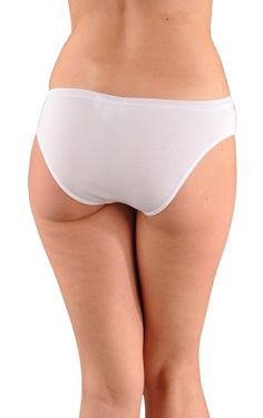 eec48a519ea A Kabbaz-Kelly Design  Pure Grace Italian Mini-Rib Cotton Bikini Panty