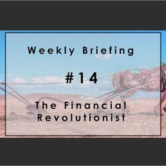 Weekly Briefing #14: Before You Bet The Farm On Blockchain Tech…. Welcome to our baker's dozen edition of The FR. This week, we hear from a blockchain skeptic, a harsh critic of European tech and someone who thinks Google will have a tough time cracking insurance. We also feature KPMG's take on roboadvisors and take note of FinVR, an augmented reality fintech start-up. Thank you for joining us. #fintech #blockchain #roboadvice #google #sequoiacapital #tech #keystonecorp #fifo #sofi…