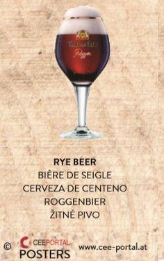 RYE BEER BIÈRE DE SEIGLE CERVEZA DE CENTENO ROGGENBIER ŽITNÉ PIVO Portal, Beer, Rye, Ale, Foods, Root Beer