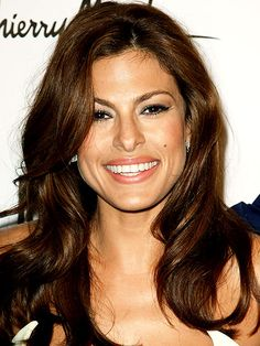 Eva Mendes ~ another beautiful Latina. Born in Miami, Florida -- the child of Cuban parents. : )