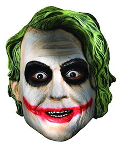 Rubies Batman The Dark Knight Child's The Joker Full Mask -- Continue to the product at the image link.
