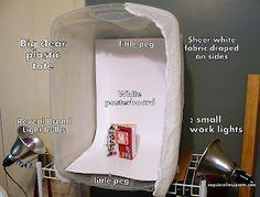 Light box must do!