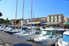 Port de Marseillan La Grenadine, Villa, Languedoc Roussillon, France, Boat, Dinghy, Boats, Fork, Villas
