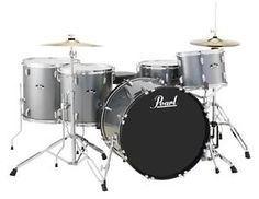 New & Factory Sealed Pearl Road Show RS525WFC/C706  CHARCOAL METALLIC   , 22x16 Bass Drum, 12x9 Rock Tom, 14x14 Floor Tom, 16x16 Floor Tom, 14x6.5 Snare Drum  FREE Ship Continental USA!  Please call us for a Great Deal!~                              Call Toll free: 866-892-7078 - Outside Lower 48: 616-863-8927