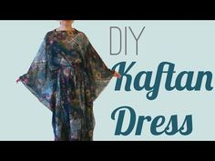DIY Easy Kaftan Dress / Cover Up - SPARKLY BELLY