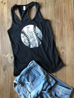 Cute tank for those hot travel ball tourneys this summer