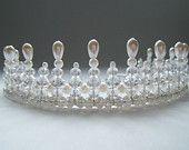 Princess Bride Crystal and Pearl Tiara
