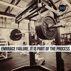 Failure is an opportunity to learn what not to do, take it. #Fitness #Motivation