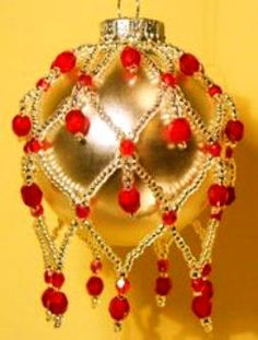 Beaded Christmas Ornament Pattern | Jewelry Making Blog